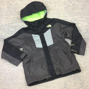 The North Face grey hooded jacket